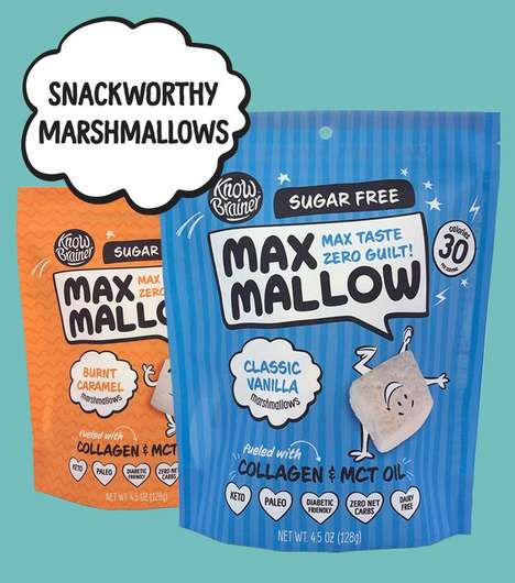 Nourishing Sugar-Free Marshmallows