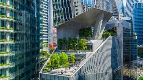 Inserted Skyscraper Gardens
