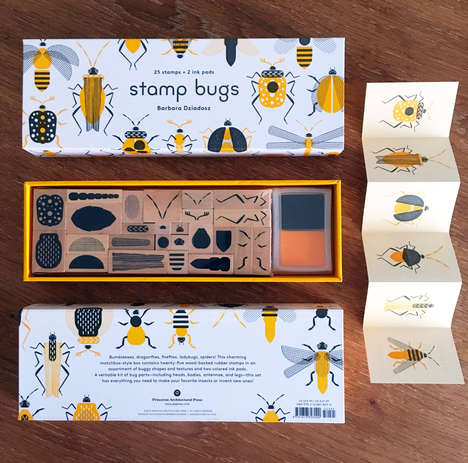 DIY Insect Stamp Kits