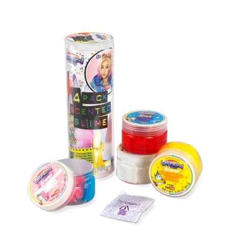 Web Celebrity-Branded Slime Packs