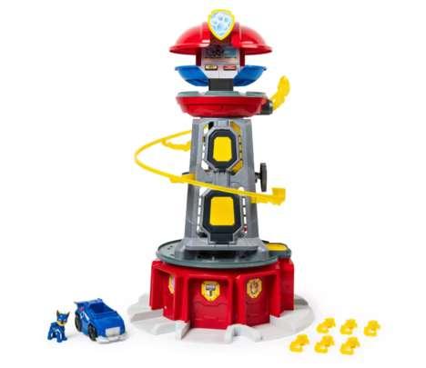 Cartoon-Themed Tower Toys
