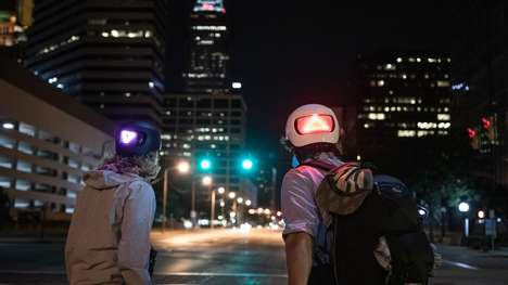 Smart LED Bike Helmets