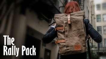 Rustic Utilitarian Backpacks