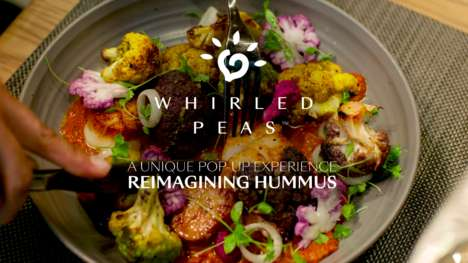 Reimagined Hummus Pop-Ups