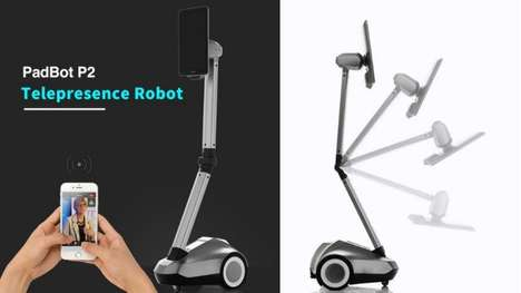 Foldable Roving Telepresence Robots