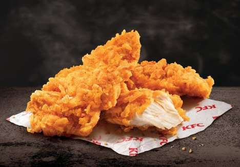 Chip-Coated Chicken Tenders