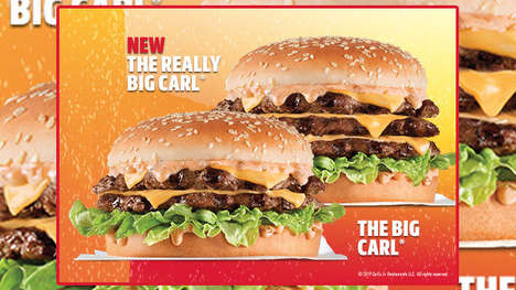 Triple Patty Beef Burgers