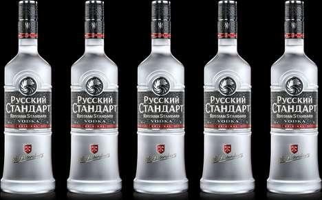 Minimalist Heritage Vodka Branding