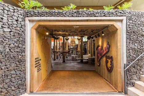 Modern Cave-Like Breweries