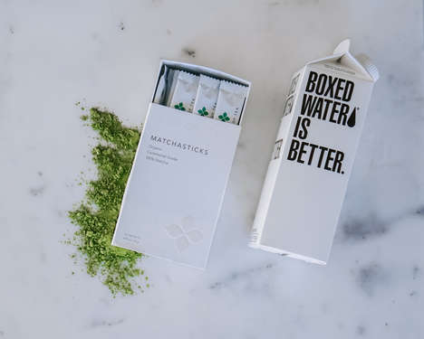 Instant Matcha Sticks
