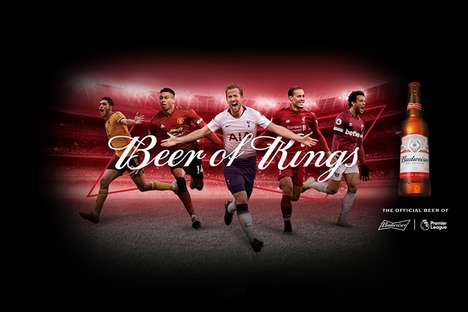 Football-Themed Beer Campaigns