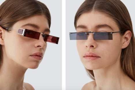 Retro-Futuristic Eyewear Lines