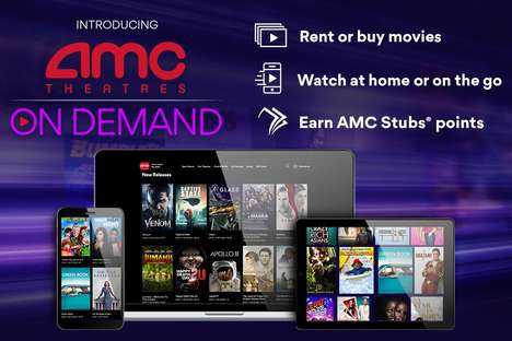 Movie Theater Streaming Services