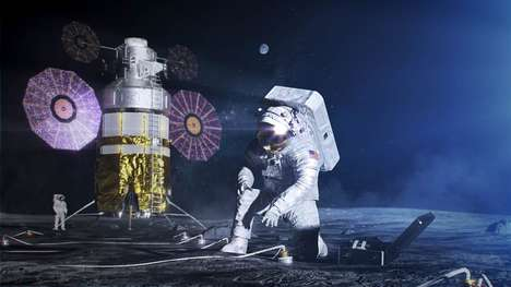 Moon Mission Spacesuit Designs