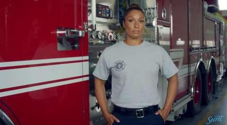 Female-Empowering Deodorant Ads