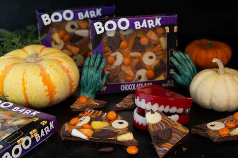 Halloween-Themed Chocolate Bars