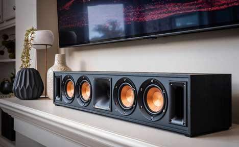Theater-Grade Living Room Speakers
