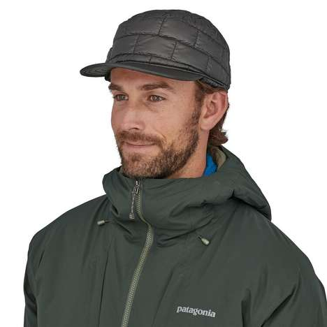 Jacket-Inspired Puffer Hats