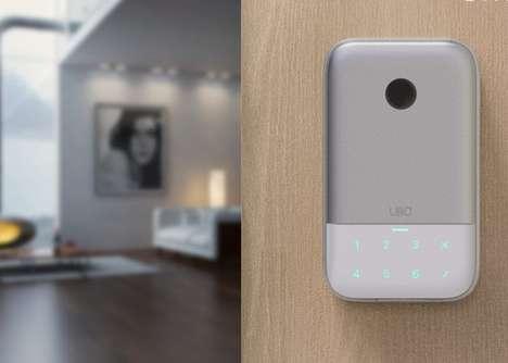 App-Connected Biometric Key Safes