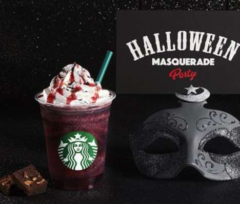 Spooky Dark Chocolate Drinks