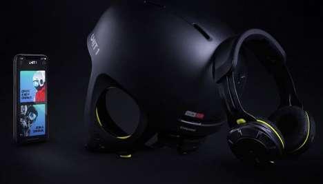 Protective Headphone-Integrated Helmets