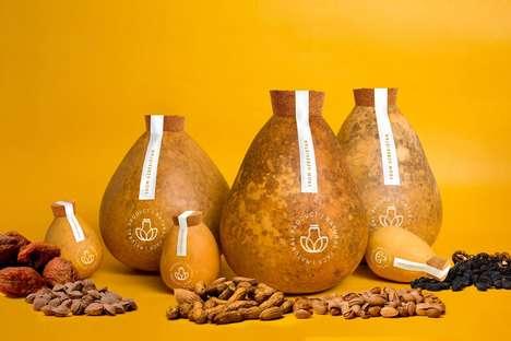 Plastic-Free Gourd Packaging