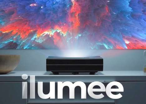 Streamlined Short-Throw 4K Projectors