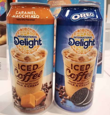 Canned Cookie Iced Coffees