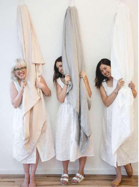 Luxury Linen Bedding Pop-Ups