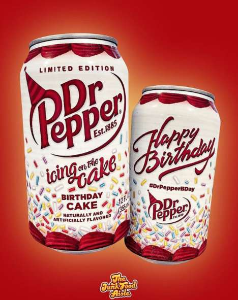 Peppery Birthday Cake Sodas