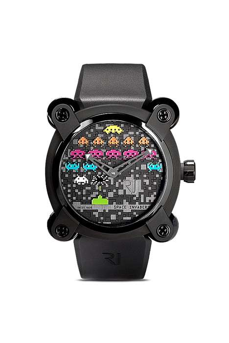 Retro Game-Themed Watches