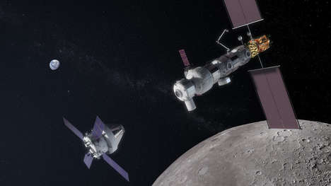 Lunar Space Station Projects