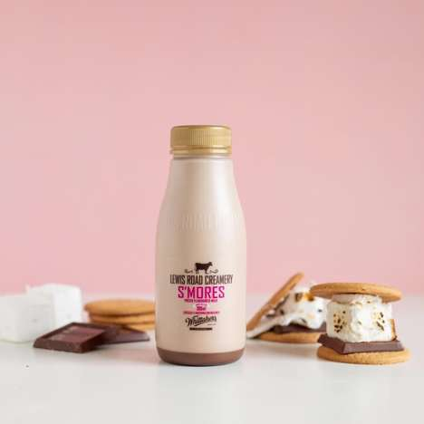 Chocolate Marshmallow Milks