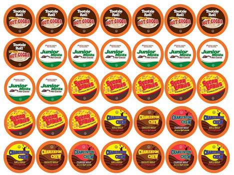 Candy-Flavored Cocoa Mixes