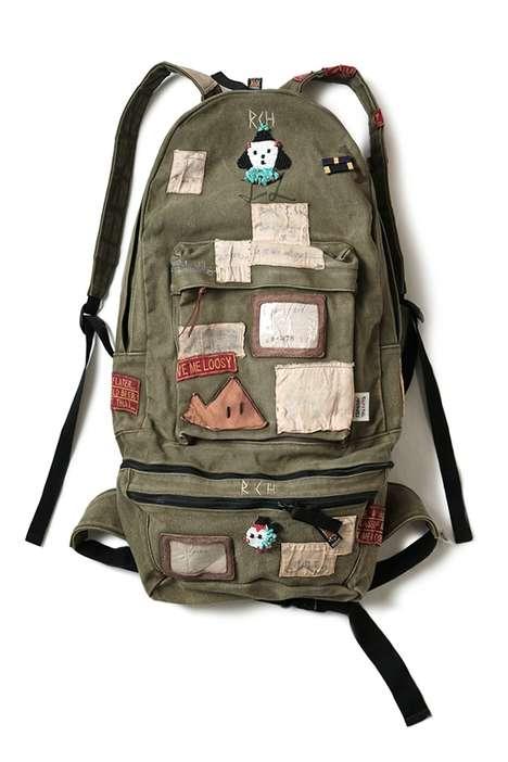 Versatile Militaristic Rucksacks