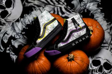 Halloween-Themed Casual Footwear