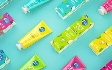 Flavorful Whitening Toothpastes