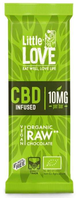 Raw CBD-Infused Chocolates