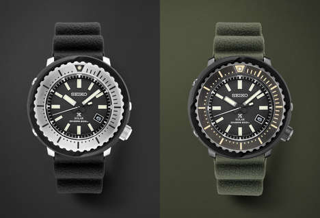 Light-Powered Diver Timepieces