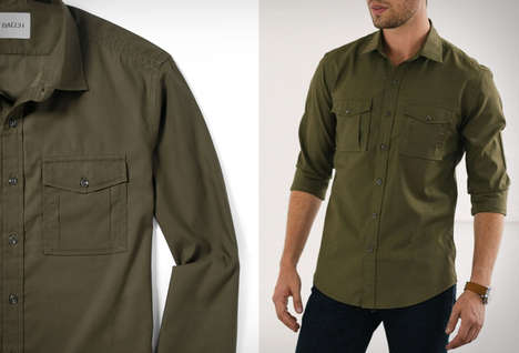 Handmade Utilitarian Dress Shirts