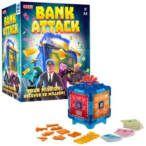 Cooperative Heist Games