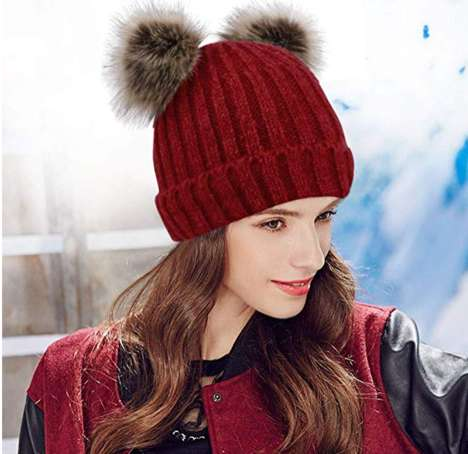 Bear-Themed Winter Hats
