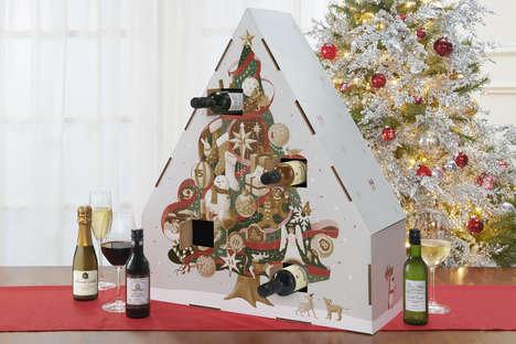 Miniature Wine Advent Calendars