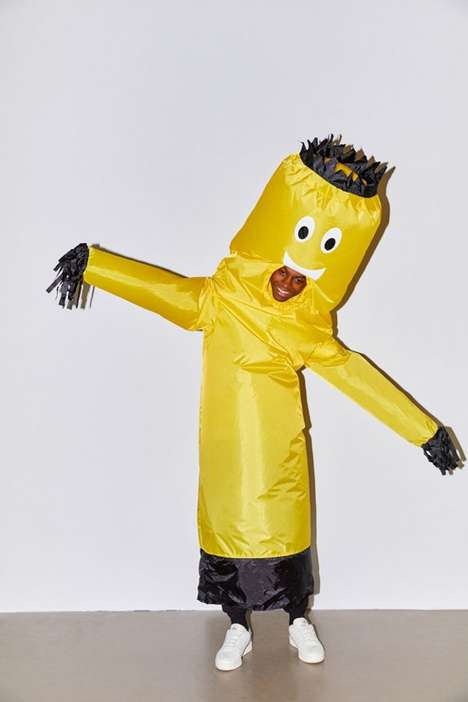 Faux-Mascot Halloween Costumes