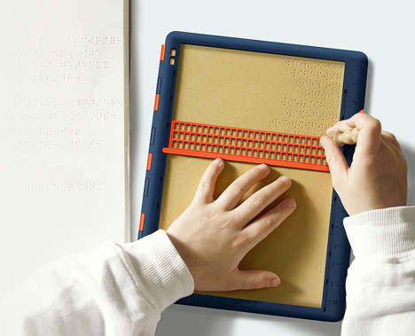 Intuitive Braille Writing Tablets