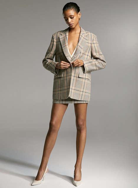 Chic Feminine Relaxed Blazers
