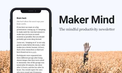 Mindful Productivity Newsletters