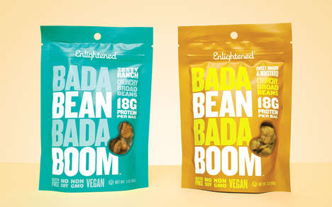 Flavor-Blasted Bean Snacks