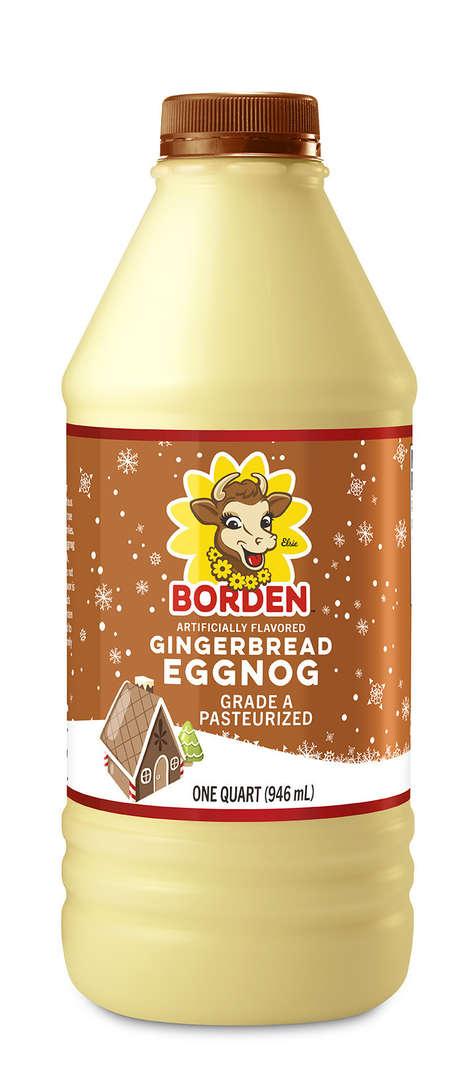 Festive Gingerbread Beverages