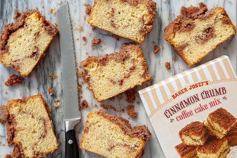 Cinnamon-Swirled Coffee Cakes